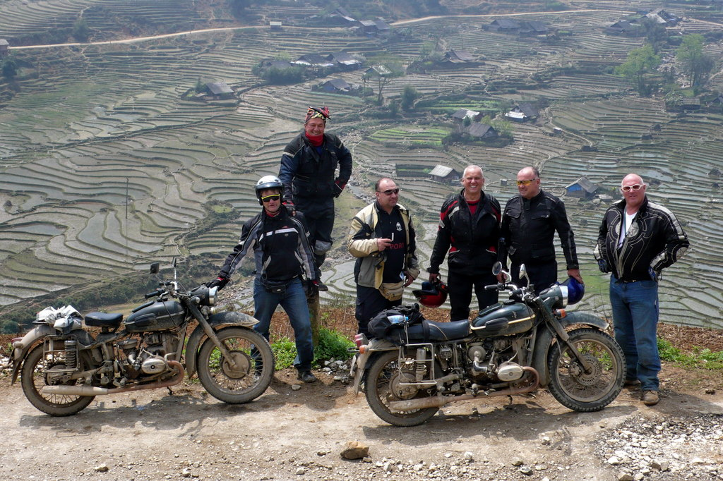 Advice on riding the hills on a motorbike in Sapa Viet Nam