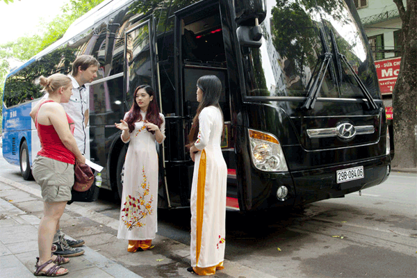 Express bus to Sapa from Hanoi